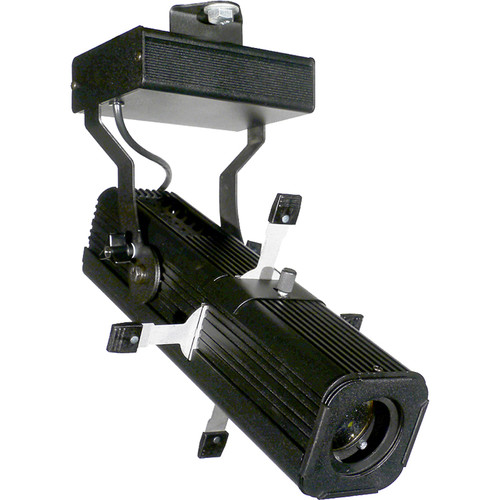 Misc 30W Micro Ellipse LED (0-10V Dimmable) With Molded Edison 4K/120V (Black)