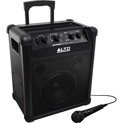 Alto Professional ACTIVE-8 WIRELESS Portable Rechargeable Bluetooth System