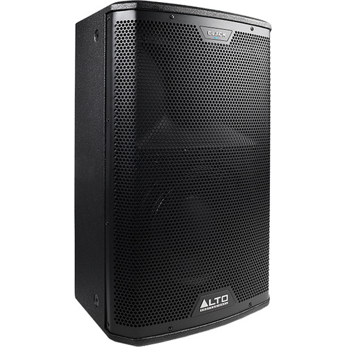 "Alto Black Series 10"" 2-Way 2400W Loudspeaker with Wireless Connectivity"