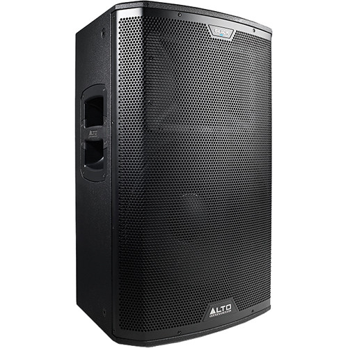 "Alto Black Series 15"" 2-Way 2400W Loudspeaker with Wireless Connectivity"