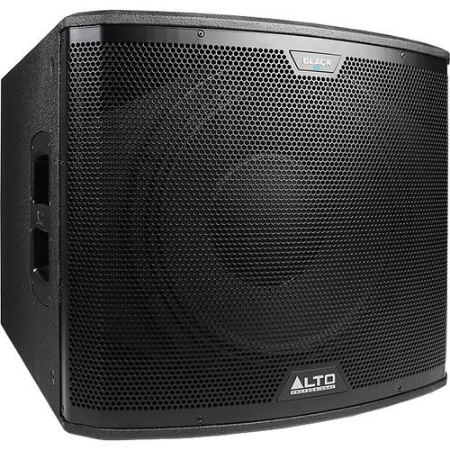 """Alto Black Series 15SUB 2400W 15"""" Active Subwoofer"""
