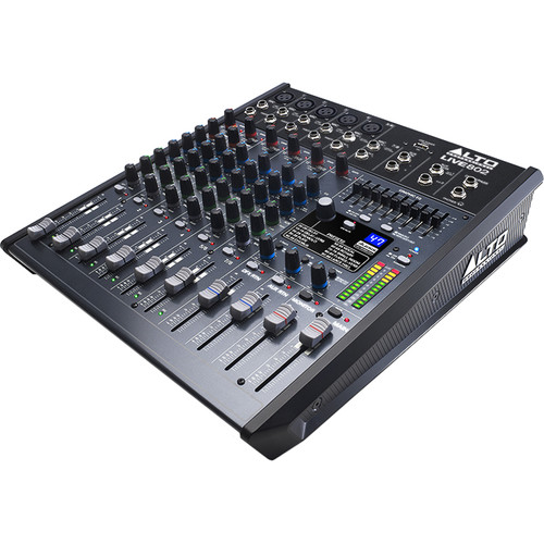 Alto Live 802 8-Channel/2-Bus Mixer with DSP and USB