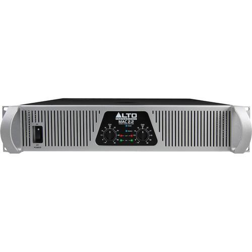 Alto Professional MAC 2.2 2-Channel 1500W Power Amplifier