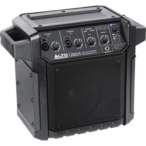Alto Professional Uber PA - Portable Rechargeable Bluetooth PA System