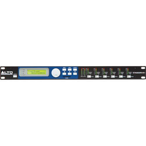 Alto STAGEDRIVE+ PC Controllable Speaker Management System