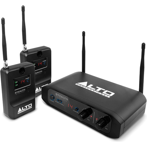Alto Stealth Wireless System Kit with 2-Receiver Expander Pack