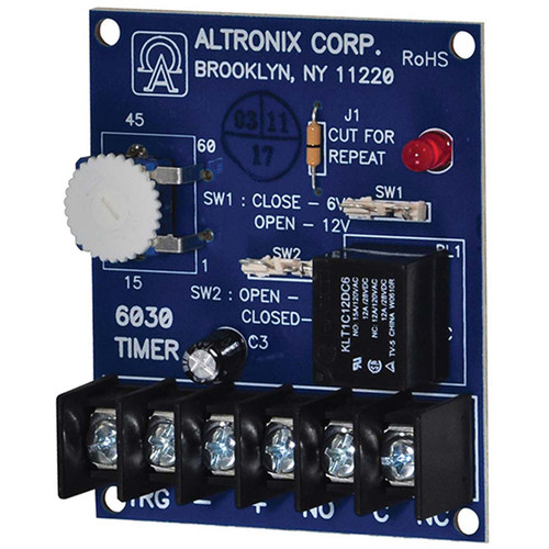 ALTRONIX Siren/Bell Programmable Cut-Off & Delay Timer (6/12 VDC)