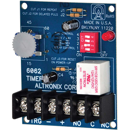 ALTRONIX Programmable Multi-Function Timer (12/24 VDC)