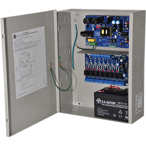 ALTRONIX Power Supply/Charger with 8 PTC Outputs Access Power Controller (12VDC @ 10A)