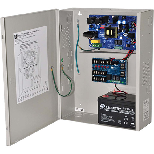 ALTRONIX M Series Multi-Output Power Supply Charger (10A @ 12VDC)