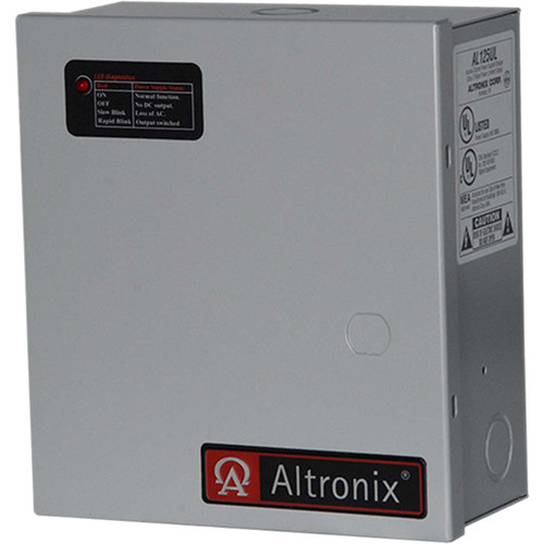 ALTRONIX AL125UL 115VAC Power Supply/Charger for Access Control