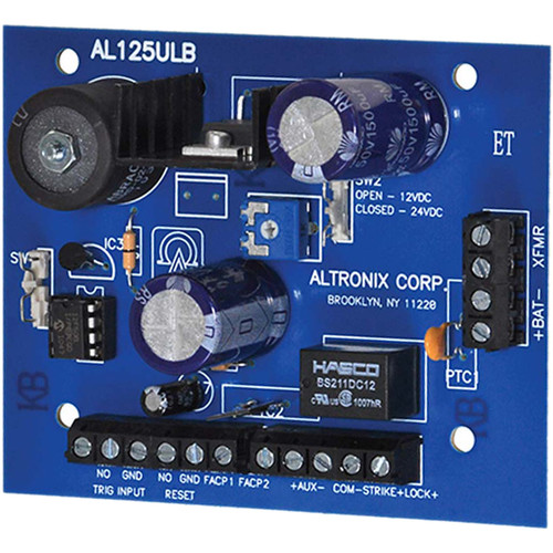 ALTRONIX Power Supply Board with 2 PTC Outputs (12/24VDC @ 1A)