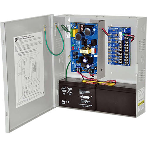 ALTRONIX AL300ULX Series 8 Fused Outputs Power Supply/Charger