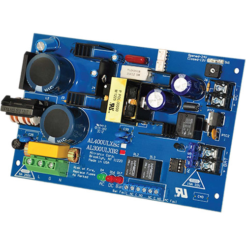 ALTRONIX AL300ULXB2 UL Recognized Power Supply/Charger (12 / 24 VDC @ 2.5A)