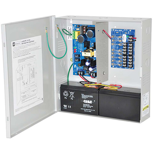 ALTRONIX AL400ULX Series Power Supply/Charger with 8 Fused Outputs