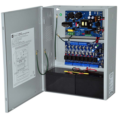 ALTRONIX Power Supply/Charger with 8-Output Access Power Controller (12 / 24VDC @ 6A)