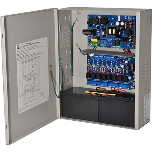 ALTRONIX Power Supply/Charger with 8 PTC Outputs Access Power Controller (12 / 24VDC @ 6A)