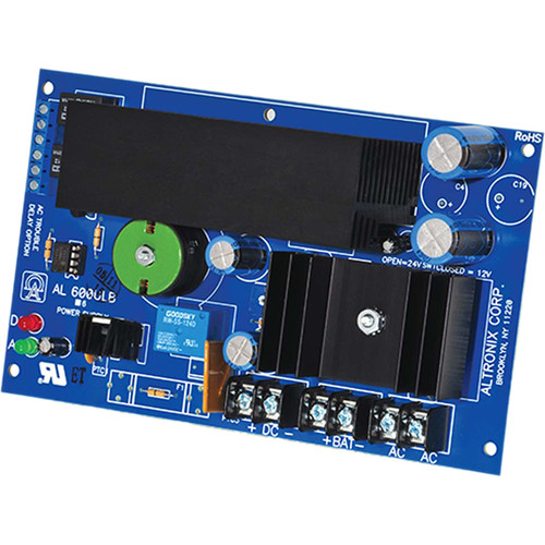 ALTRONIX AL600ULB UL Recognized Power Supply/Charger (12 / 24 VDC @ 6A)