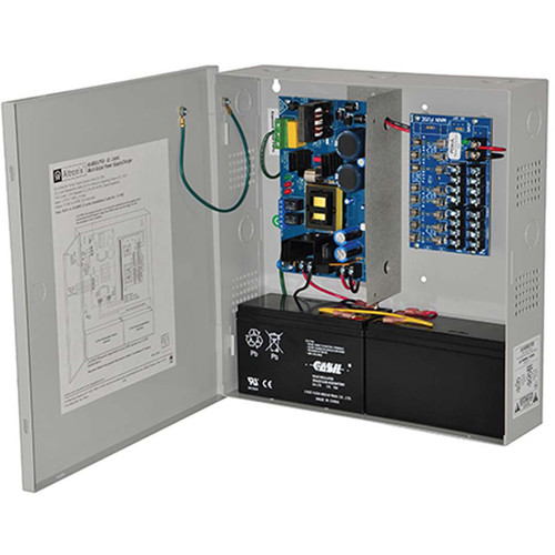 ALTRONIX AL600ULPD8 8 Fused Outputs 12/24 VDC Power Supply/Charger