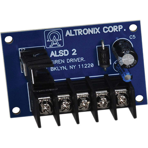 ALTRONIX Dual Channel Siren Driver (6 / 12VDC)