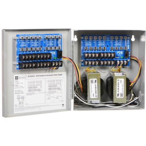 ALTRONIX 16-Output Power Supply (24 VAC @ 8A / 28 VAC @ 7A)