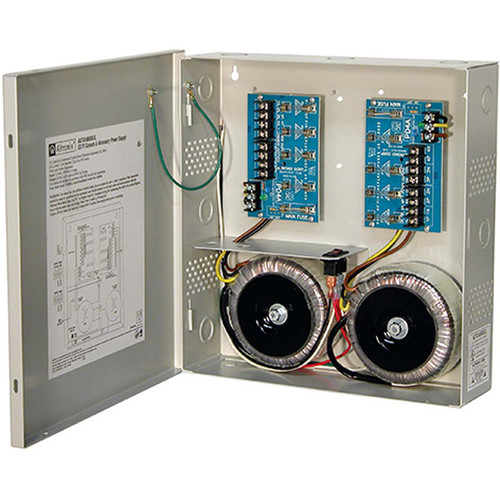 ALTRONIX CCTV Power Supply with 8 Fused Outputs (24 VAC at 25A / 28 VAC at 20A)