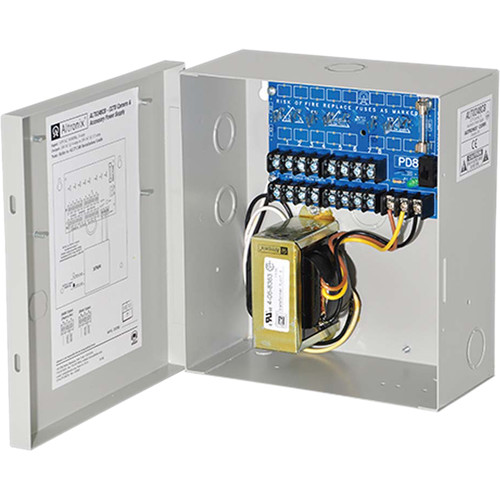 ALTRONIX CCTV Power Supply with 8 PTC Outputs (24 VAC at 4A / 28 VAC at 3.5A)