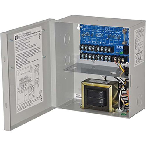 ALTRONIX CCTV Power Supply with 8 PTC Outputs (24 VAC at 3.5A / 28 VAC at 3A)