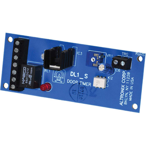 ALTRONIX Door Control Timer with Dry Relay Output (12 - 24 VAC/VDC)