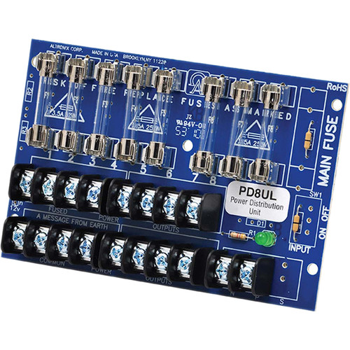 ALTRONIX PD8UL UL-Listed Power Distribution Module