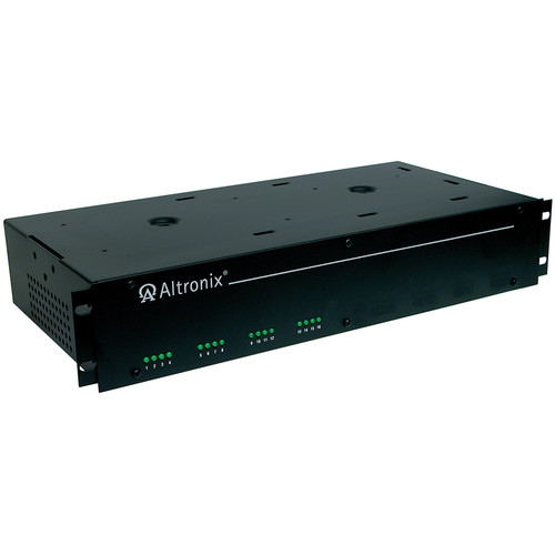 ALTRONIX AC Rackmount CCTV 24/28 VAC Power Supply with 16 Fuse Outputs