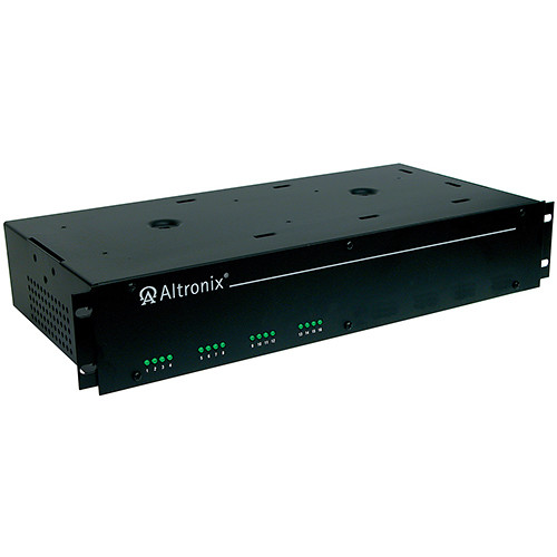 ALTRONIX CCTV Power Supply with 16 PTC Outputs (24 VAC, 2 RU)