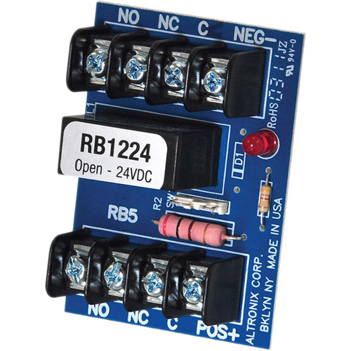 ALTRONIX RB1224 12/24 VDC Relay Module