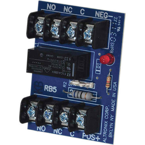 ALTRONIX RB5 6/12 VDC Relay Module