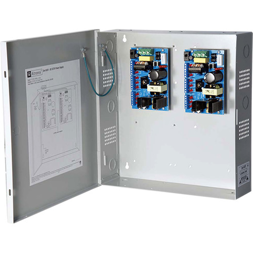 ALTRONIX DC CCTV Power Supply for 18 Class 2 Rated PTC Protected Outputs