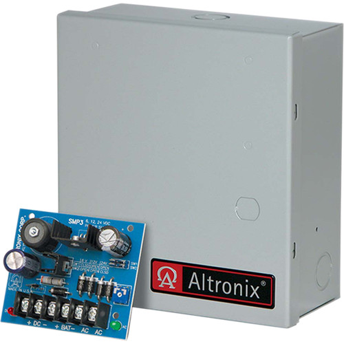 ALTRONIX High Current Power Supply/Charger (6/12VDC @ 2.5A)