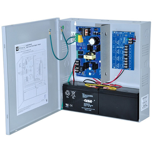 ALTRONIX Supervised Power Supply/Charger with 4 PTC Outputs (12/24VDC @ 2.5A, Gray)