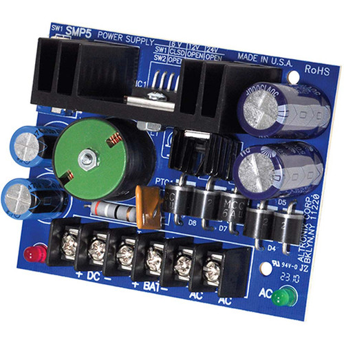 ALTRONIX Switching Power Supply Board (6/12/24VDC @ 4A)