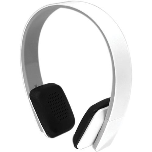Aluratek ABH04F Bluetooth Wireless Stereo Headphones (White)