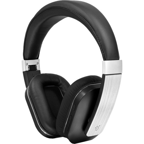 Aluratek ABH01F Bluetooth Wireless Headphones with Built-In Microphone