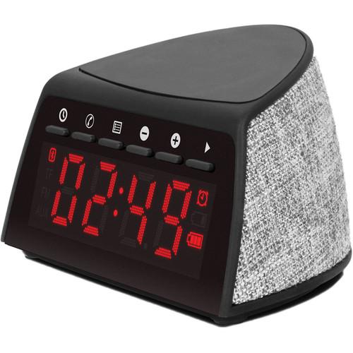 Aluratek ABQC01F Portable Bluetooth Alarm Clock Radio
