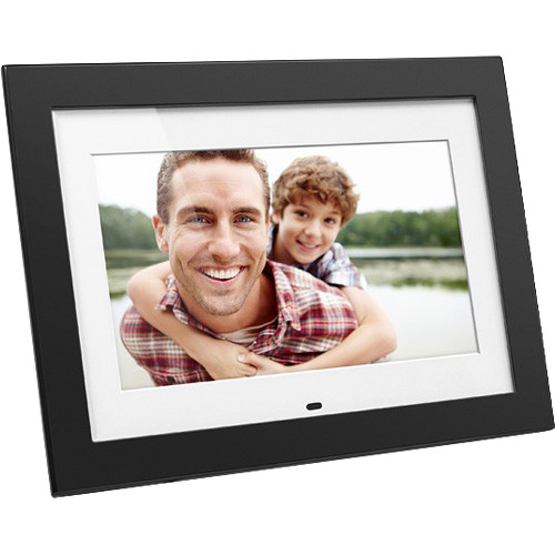 "Aluratek ADMPF410T 10"" Digital Photo Frame with 4GB Built-In Memory"