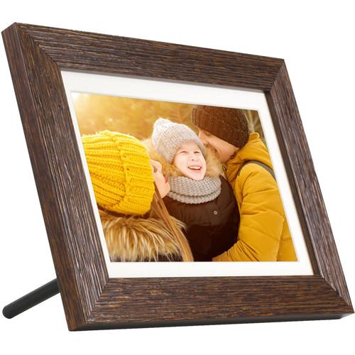 "Aluratek 8"" eco4life Wi-Fi Digital Photo Frame with Touchscreen & 16GB Memory"