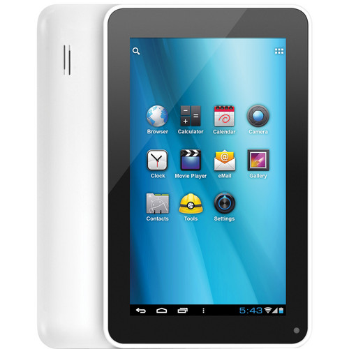 """Aluratek 4GB CINEPAD 7"""" Multi-Touch Capacitive Tablet"""