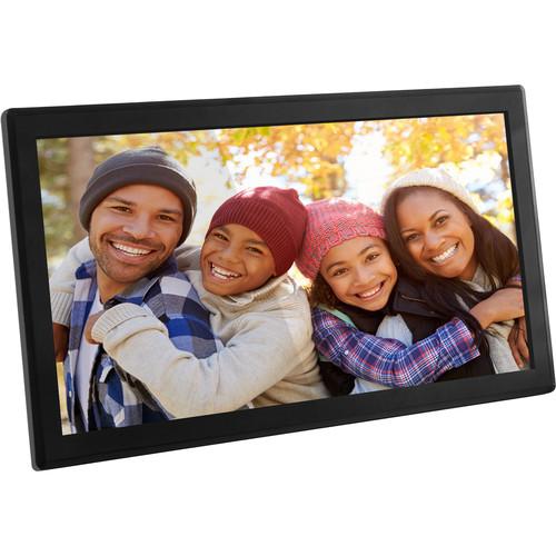 "Aluratek 17.3"" 8Gb Touch Wifi Digital Photo Frame"