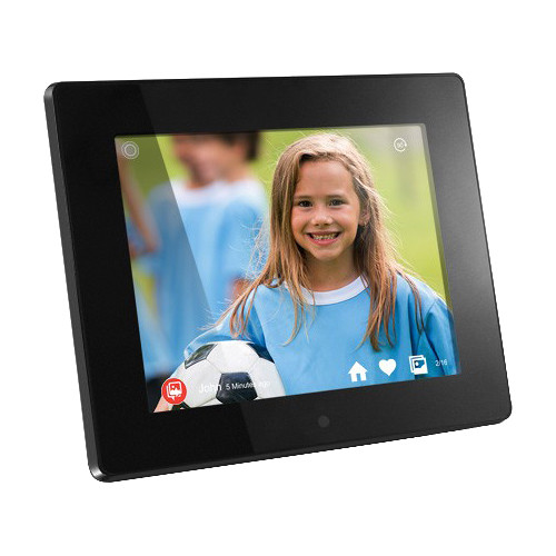 "Aluratek AWDMPF208F 8"" Wi-Fi Digital Photo Frame"