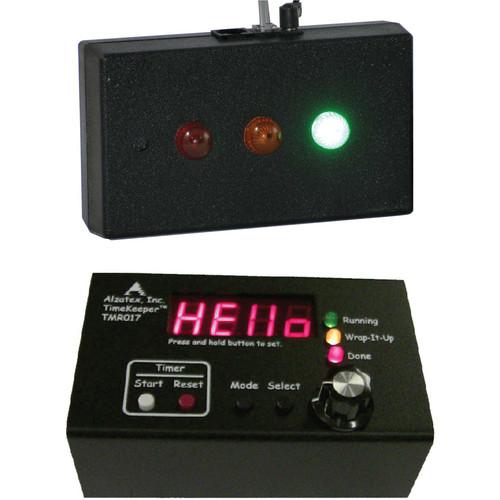 alzatex ALZM01A Presentation TimeKeeper System with LED Display (Black)