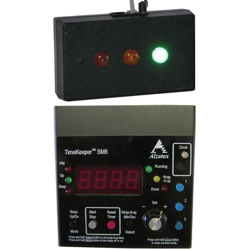 alzatex ALZM02A Presentation TimeKeeper System with LED Display (Black)