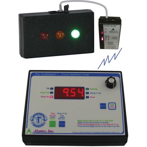 alzatex ALZM03A Presentation TimeKeeper System with LED Display (Black)
