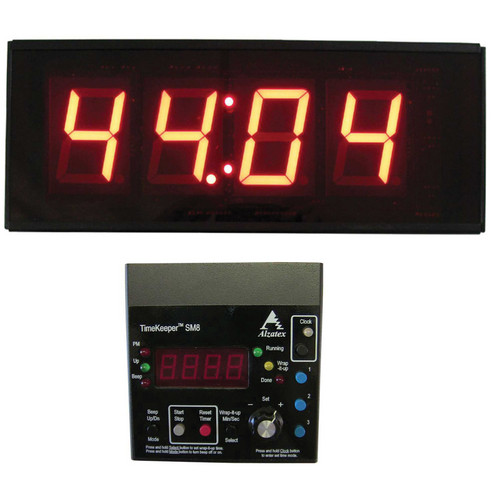 alzatex ALZM04A Presentation TimeKeeper System with LED Display (Black)